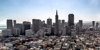 Downtown San Francisco from Coit Tower